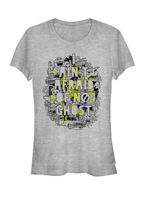 Aint Afraid Collage Slim Drip Poster Short Sleeve T-Shirt