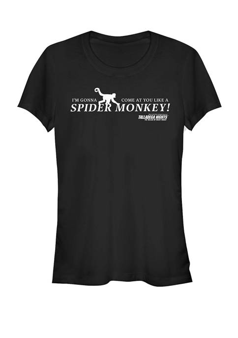 Come At You Like A Spider Monkey Quote Short Sleeve T-Shirt