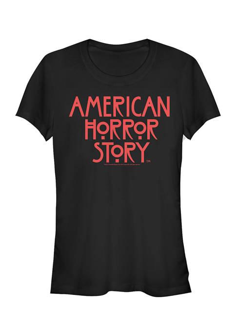 American Horror Story Juniors American Horror Logo T-Shirt