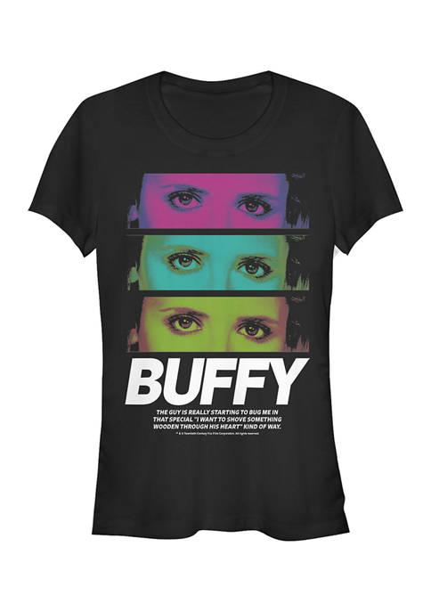 Buffy the Vampire Slayer Juniors Buffy Stack Graphic