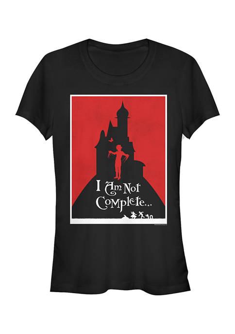 Edward Scissorhands Juniors Minimal Poster Graphic T-Shirt