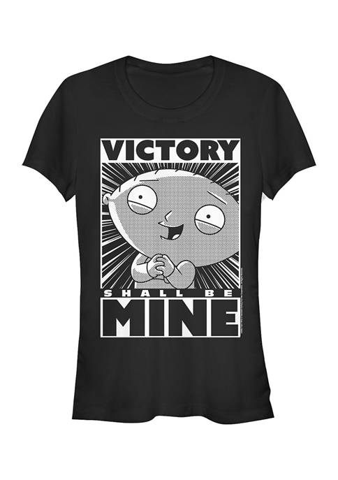 Family Guy Juniors Stewie Victory Graphic T-Shirt