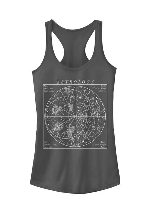 Juniors Astrology Boho Tank Top
