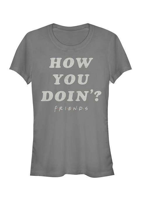 Friends Juniors How You Doin Graphic T-Shirt