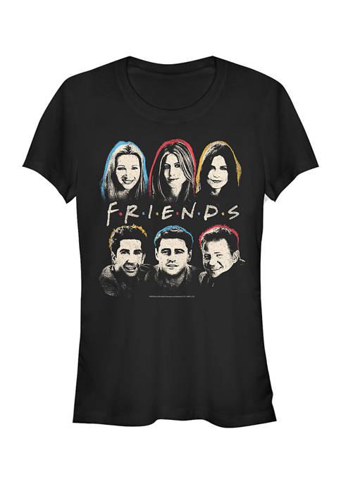 Friends Juniors Head Graphic T-Shirt