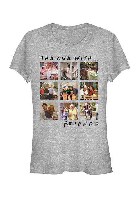 Friends Juniors Episode Box Up Graphic T-Shirt