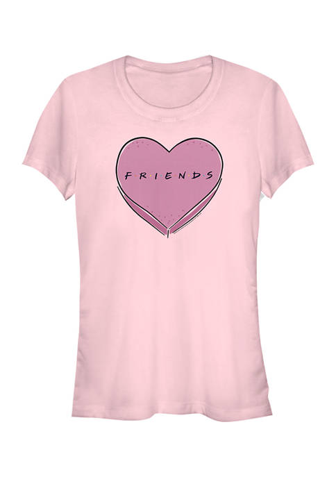 Friends Juniors Candy Heart T-Shirt