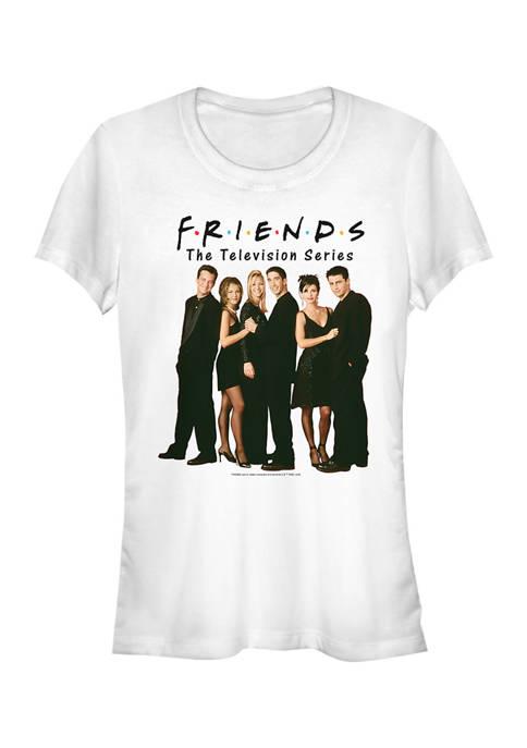 Friends Juniors Lineup Photo T-Shirt