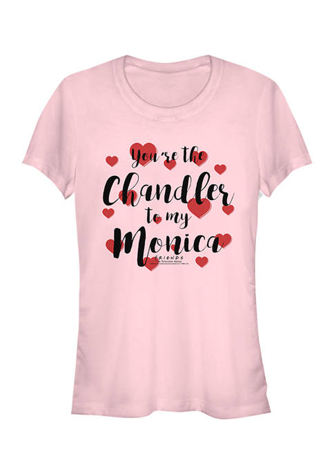 Friends Juniors Rachel to my Monica T-Shirt