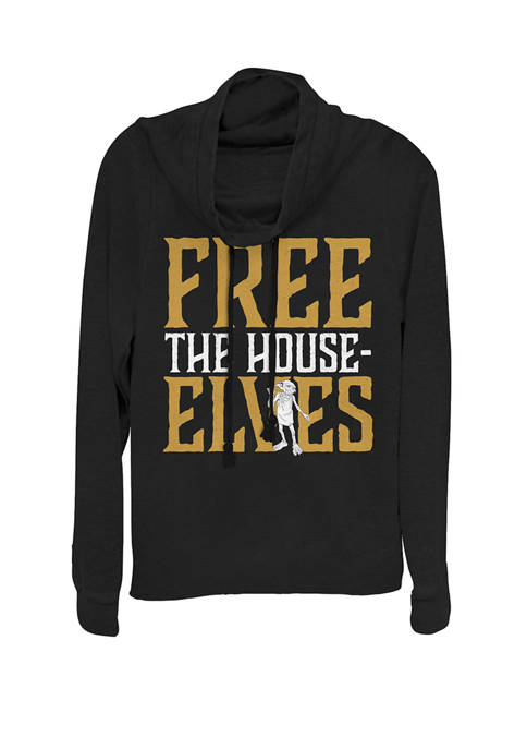 Harry Potter Free the House Elves Text Cowl