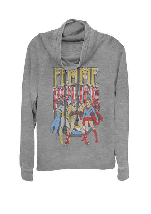 DC COMICS™ Wonder Woman Batgirl Super Girl Femme