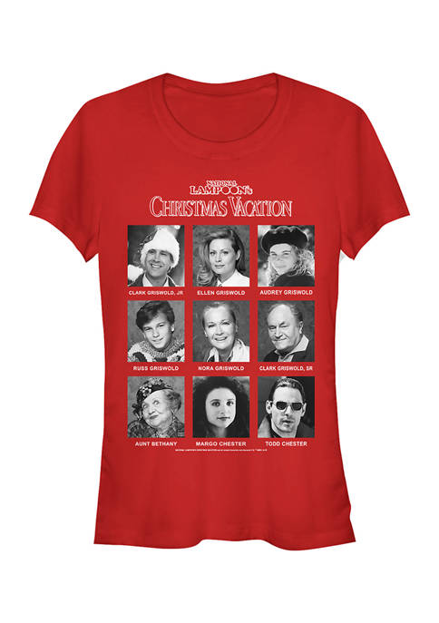 National Lampoon's Christmas Vacation Juniors Family Yearbook Top