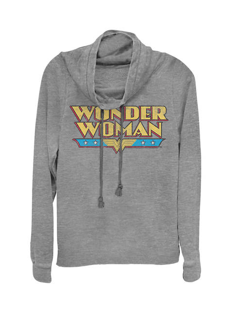 DC COMICS™ Wonder Woman Retro Distressed Name Logo