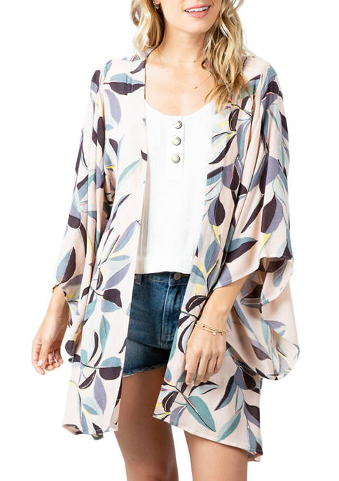 Womens Palm Bay Kimono Duster