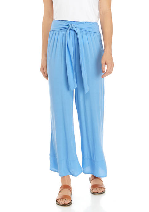 Cabana by Crown & Ivy™ Cropped Flare Pants