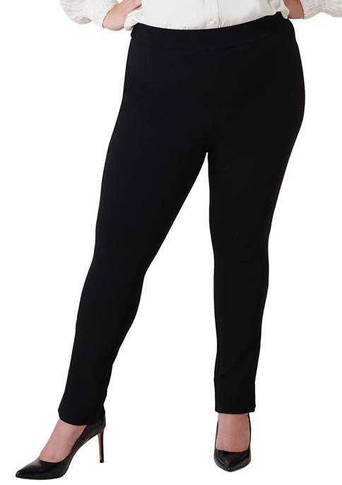 MAREE POUR TOI Plus Size Compression Pants