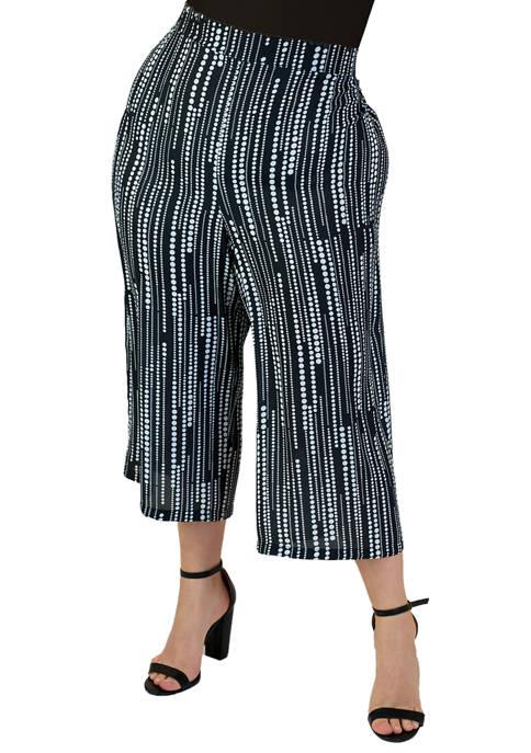 Maree Pour Toi Plus Size Georgette Pants