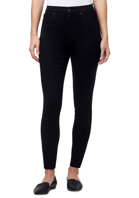 High Rise Skinny Jeans in Average Length