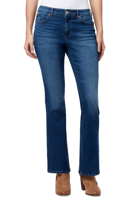 Chaps Mid Rise Bootcut Jeans in Average Length