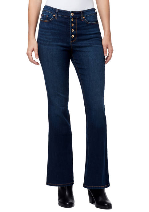 Chaps High Rise Flare Jeans
