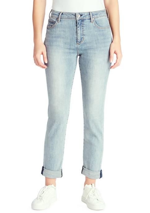 Chaps Slim Boyfriend Jeans in Average Length