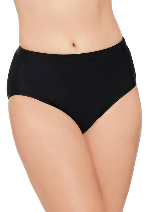 American Beach Solid Basic Swim Bottoms