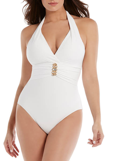 Miraclesuit® Rock Solid Rockstar One Piece Swimsuit