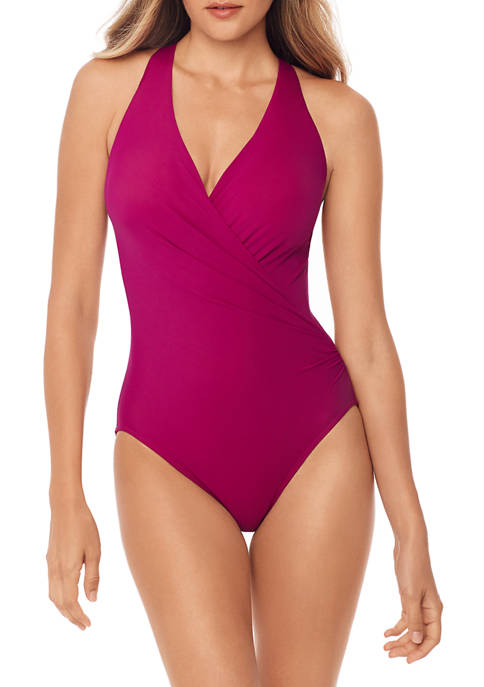 Miraclesuit® Rock Solid Wrapsody One-Piece Swimsuit