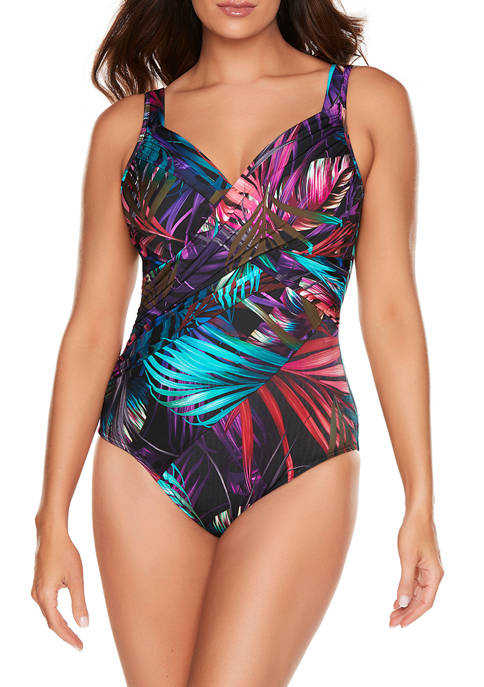 Miraclesuit® Mystical Palms Revel One-Piece Swimsuit