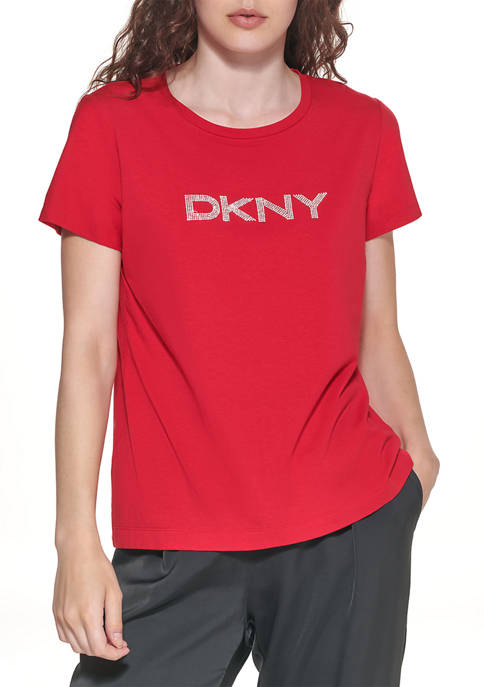 Diamante Logo T-Shirt