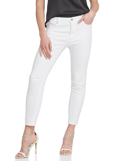 DKNY Straight Leg Denim Jeans