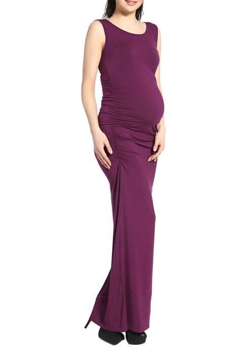 Kimi & Kai Maternity Charlotte Tank Column Dress