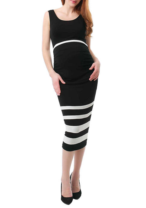 Maternity Miranda Colorblock  Body-Con Dress