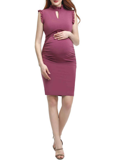 Kimi & Kai Maternity Madeline Body-Con Dress