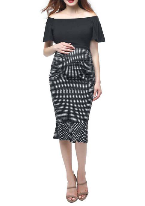 Maternity Irena Mermaid Midi Dress