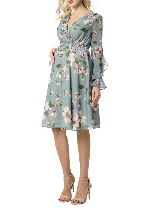 Maternity Salena Floral Skater Dress