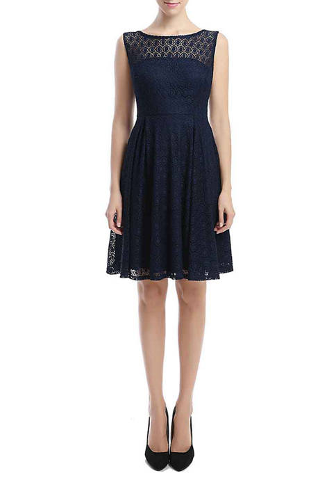 Kimi & Kai Womens Fit and Flare Lace