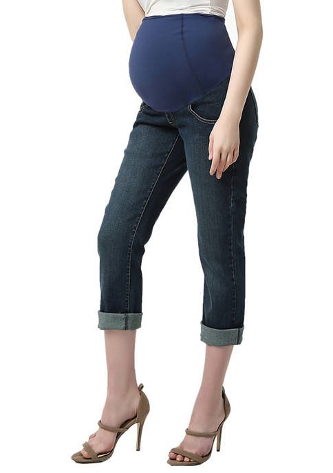 Kimi & Kai Maternity Jodie Girlfriend Jeans