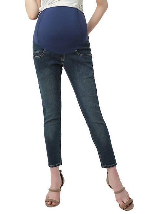 Kimi & Kai Maternity Tara Cropped Jeans
