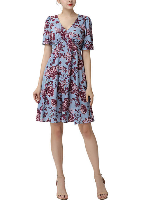 Justice Fit & Flare Dress