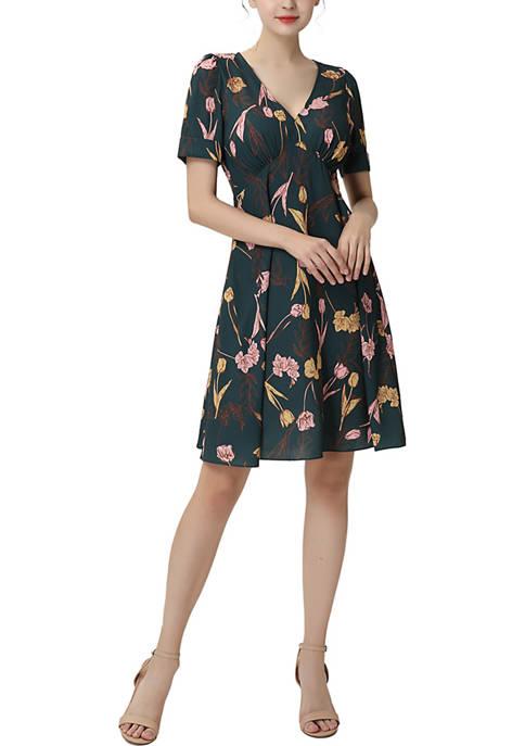Kimi & Kai Tess Fit & Flare Dress
