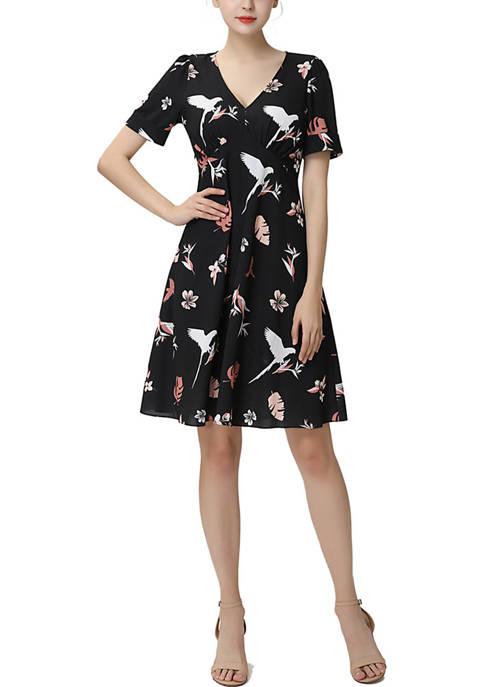 Una Fit & Flare Dress