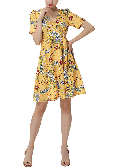 Kimi & Kai Junia Fit & Flare Dress