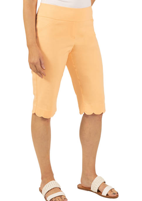 Hearts Of Palm Womens Solid Tech Stretch Skimmer