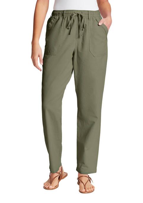 Gloria Vanderbilt Womens Cotton Pants