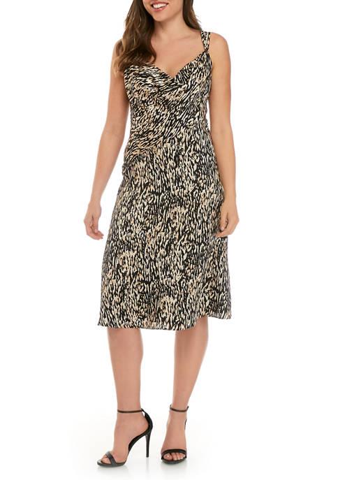 Donna Karan Womens Wedge Strap Slip Dress