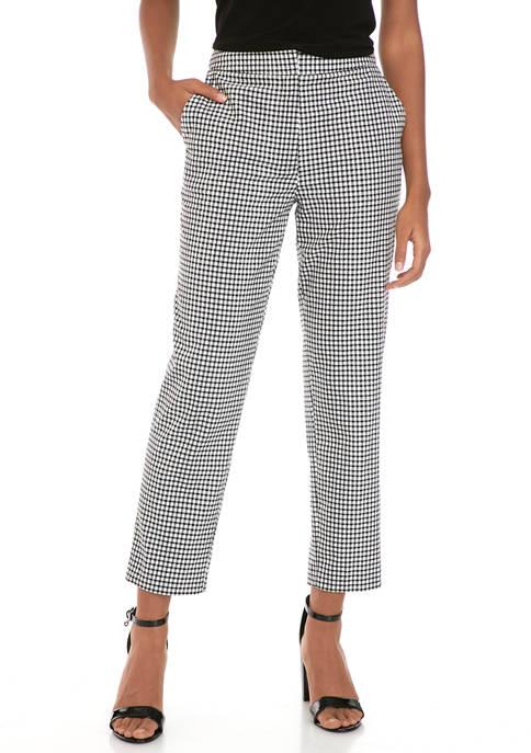 Donna Karan Womens Straight Leg Chino Pants