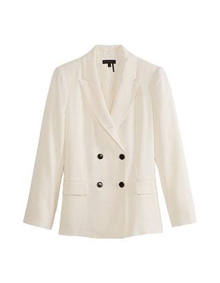 Women's Double Breasted Blazer Jacket