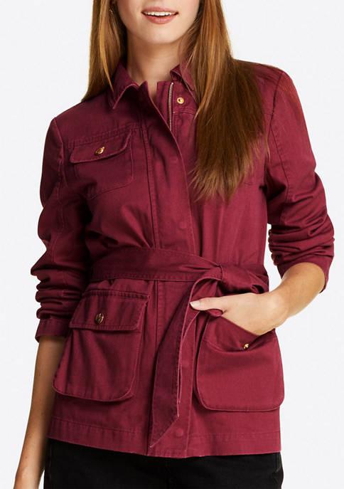 Womens Twill Field Jacket