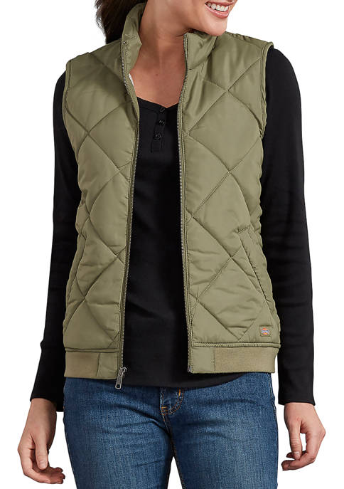 Dickies® Womens Quilted Vest